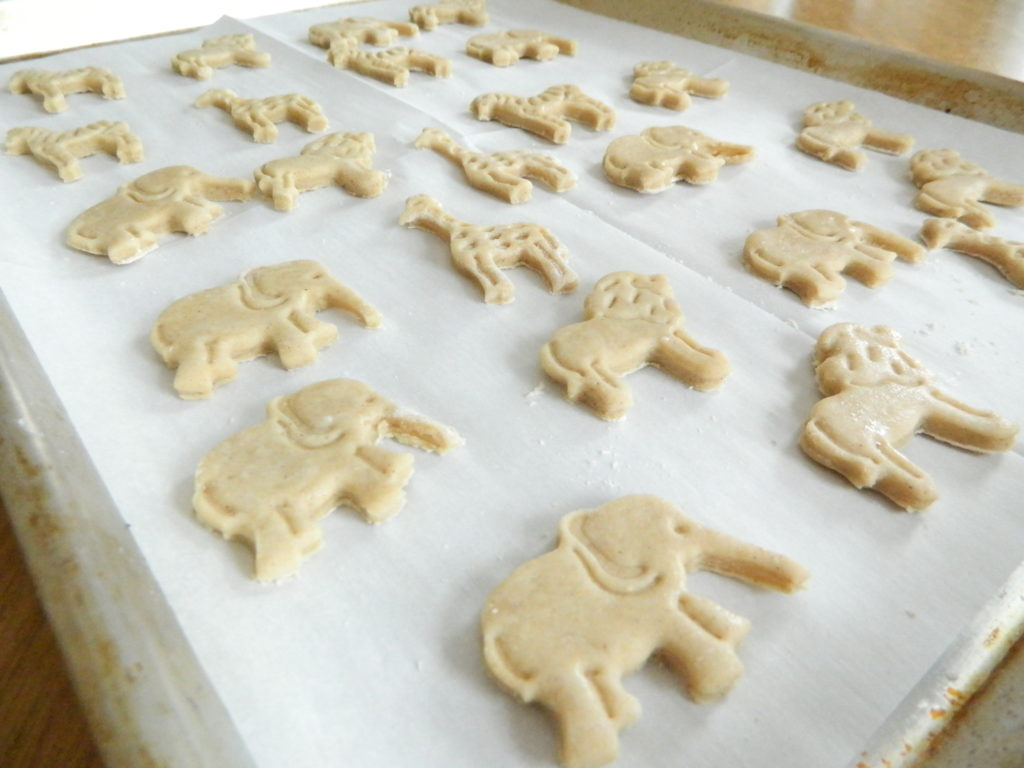 Homemade Animal Crackers - finestofsuppers.com
