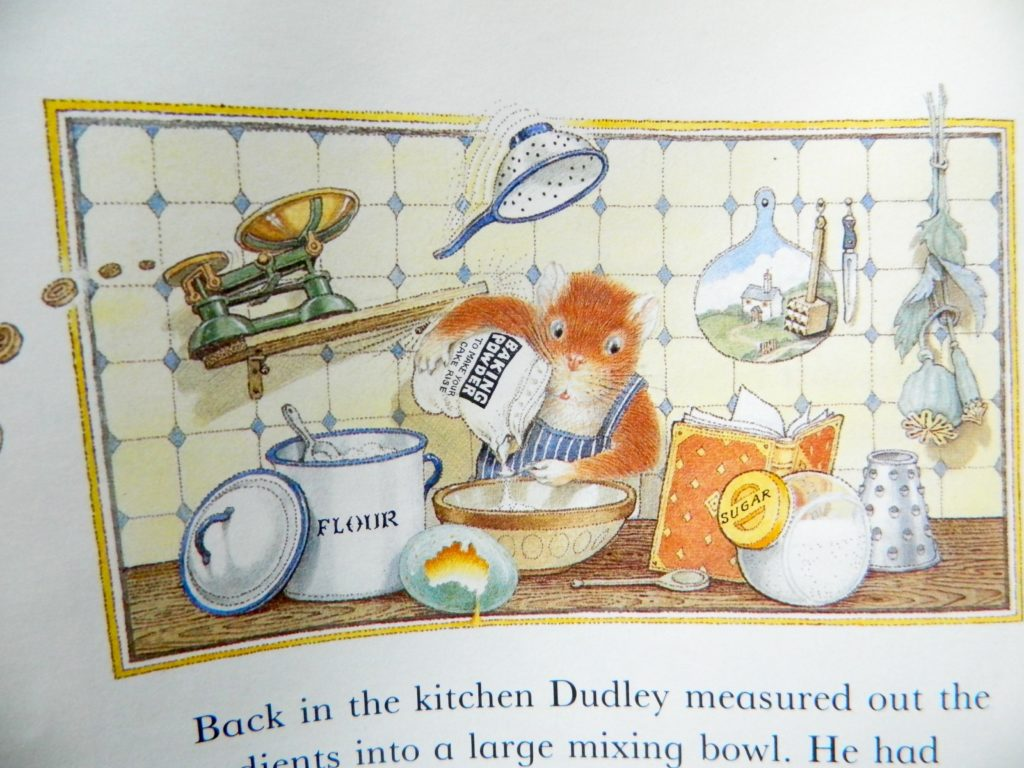 Dudley Bakes a Cake - finestofsuppers.com