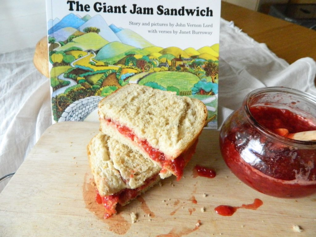 The Giant Jam Sandwich - finestofsuppers.com