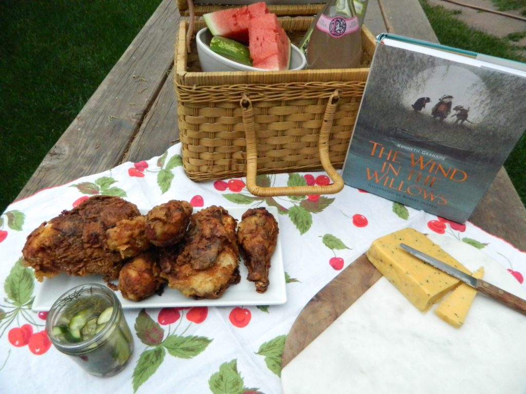 The Wind in the Willows picnic - finestofsuppers.com