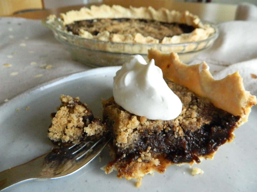 Shoo-fly pie - finestofsuppers.com