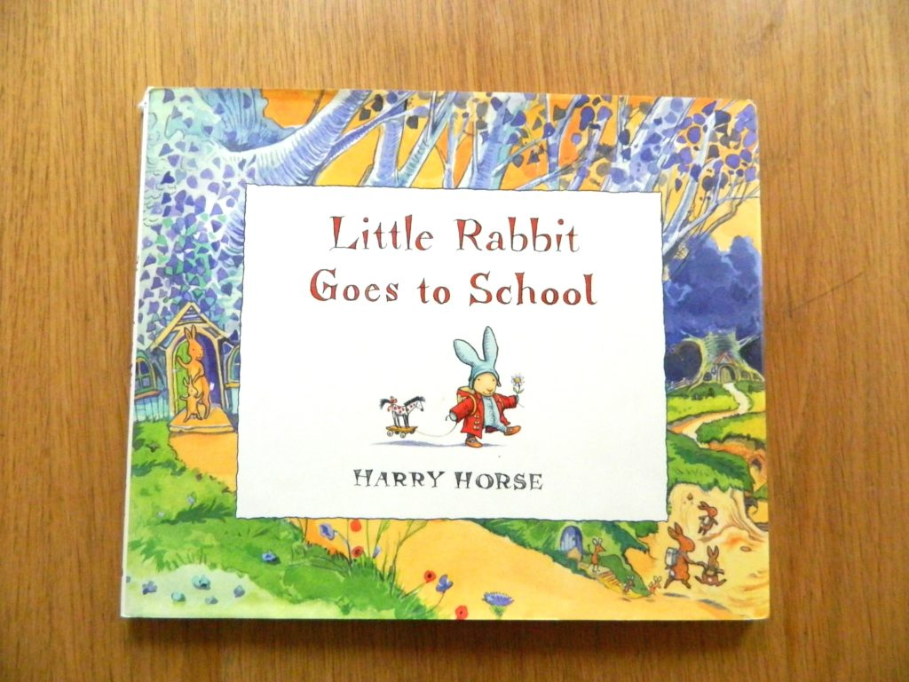 Little Rabbit Goes to School - finestofsuppers.com