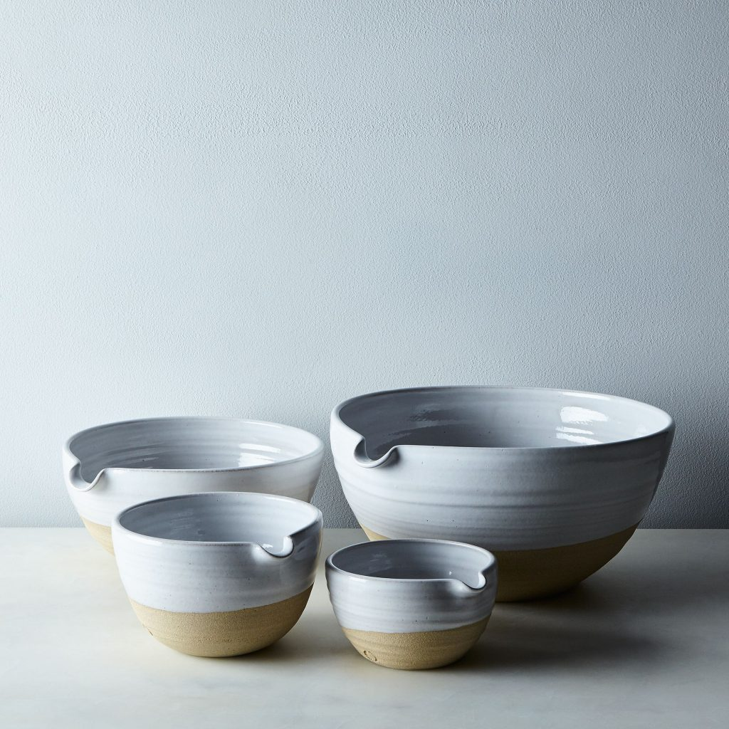 Pottery Batter bowls from Food 52