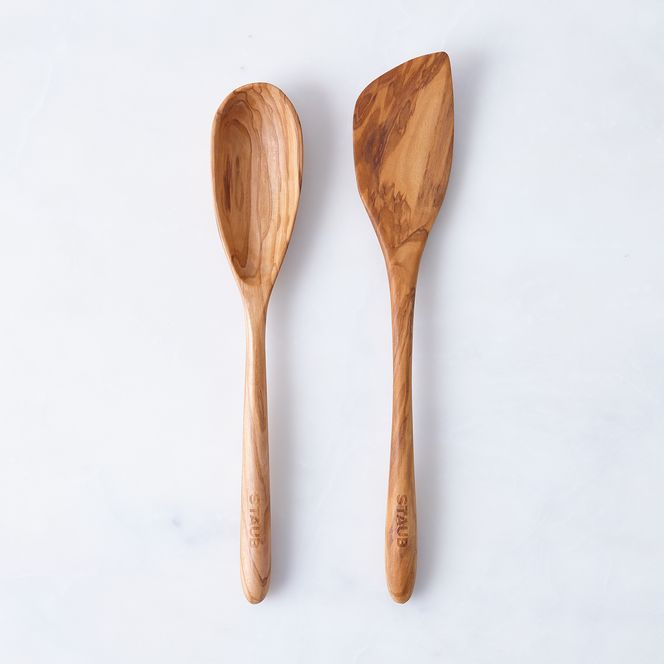 Wooden spoon and spatula set from food52.com