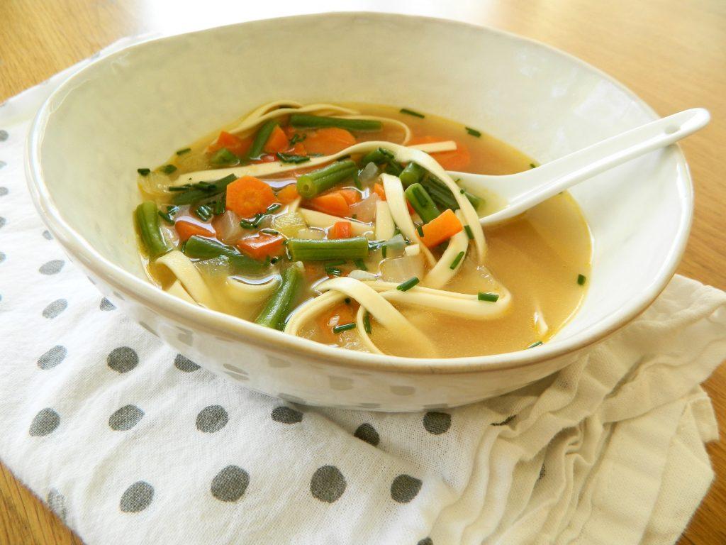 Vegetable Noodle Soup - finestofsuppers.com