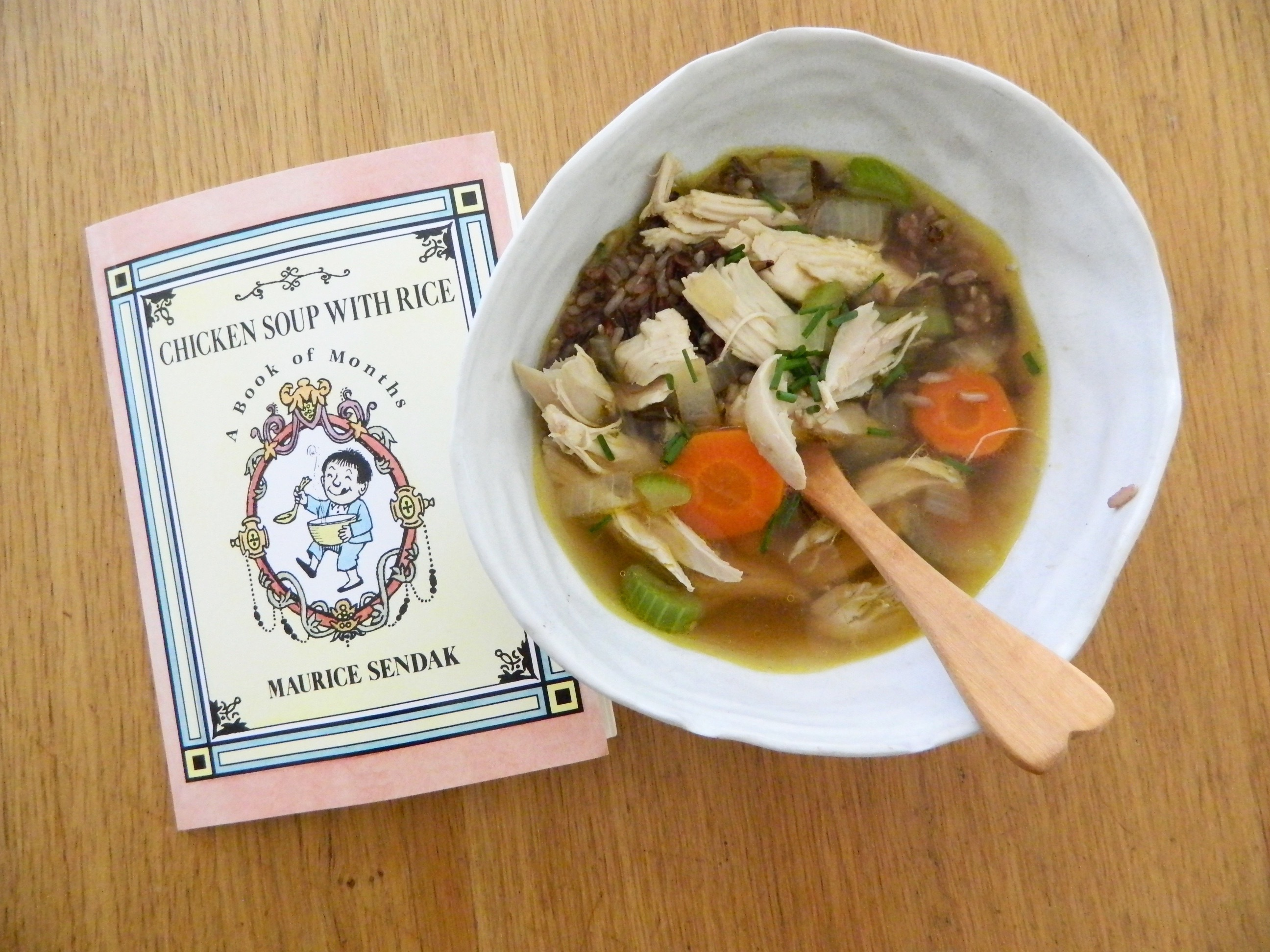 Chicken Soup with Wild Rice - finestofsuppers.com