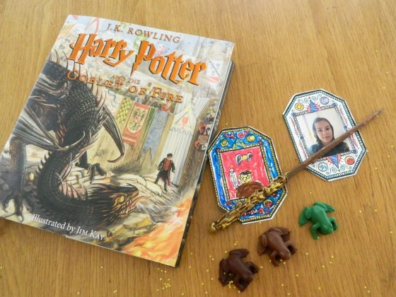 """Harry Potter and the Goblet of Fire"" and three kinds of Chocolate Frogs - finestofsuppers.com"