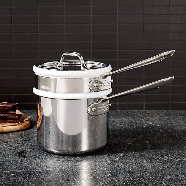 Buy a double boiler on crateandbarrel.com