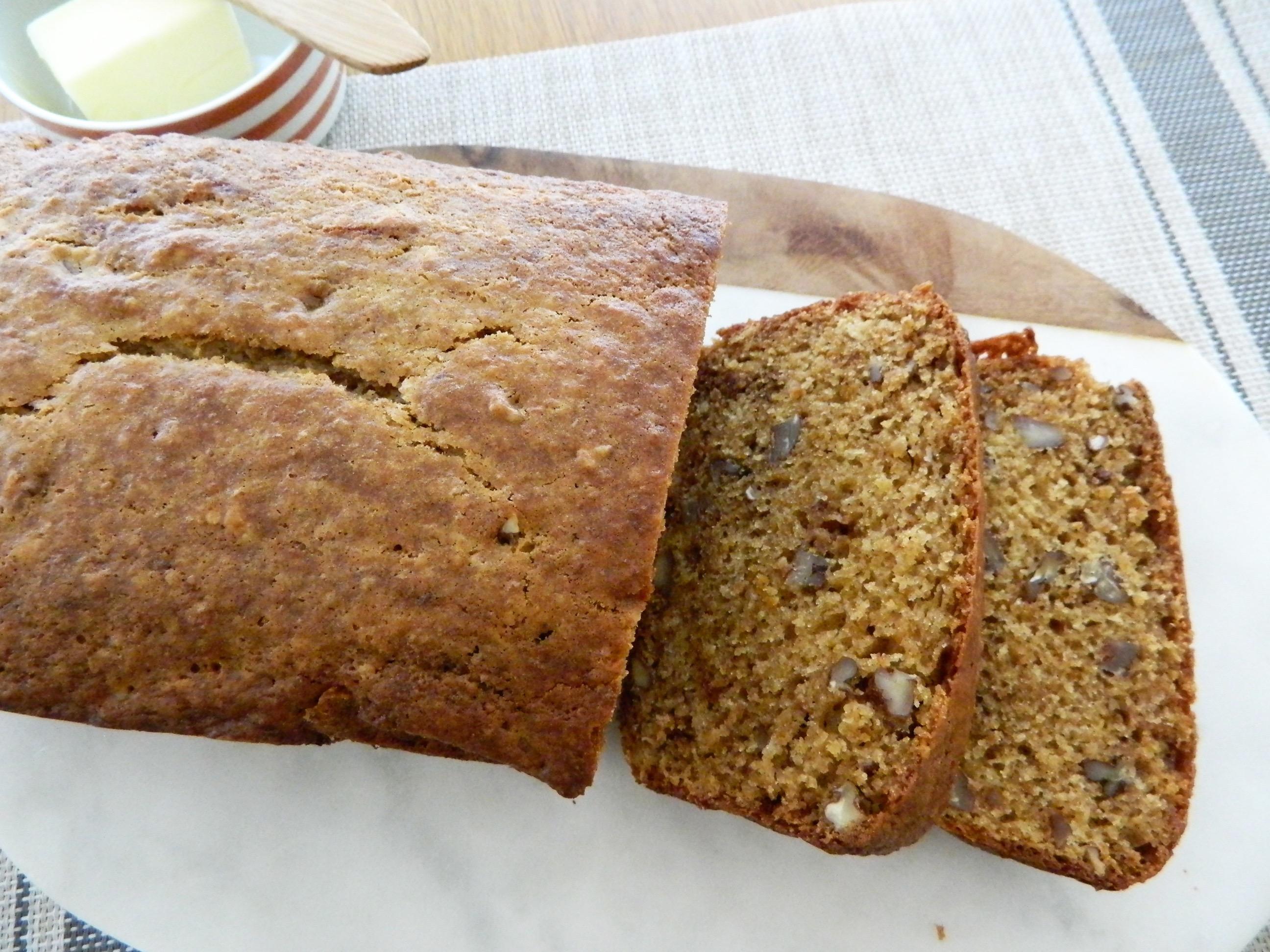 Persimmon Pecan Bread - finestofsuppers.com