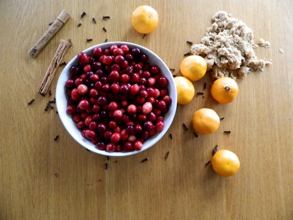 Ingredients for Orange Spice Cranberry Sauce - finestofsuppers.com