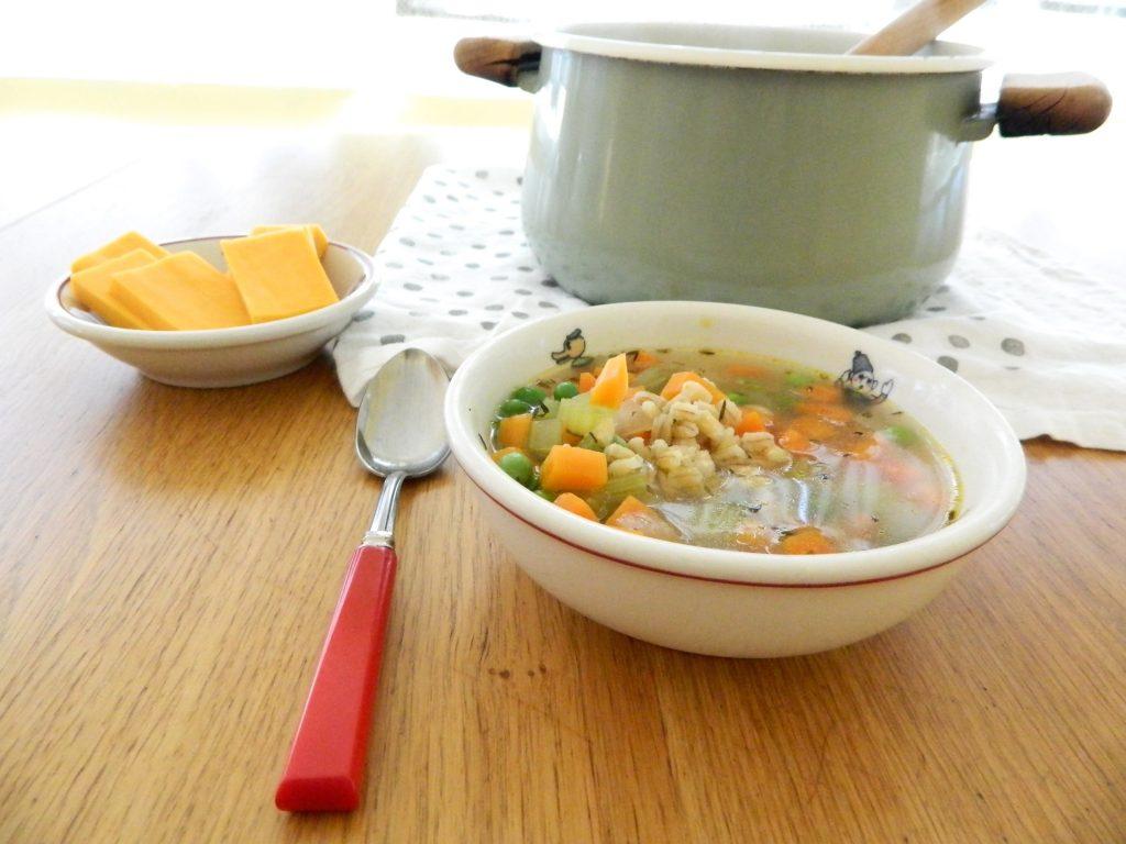 Vegetable Barley Soup - finestofsuppers.com