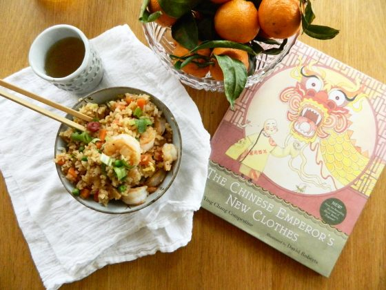 "Review of ""The Chinese Emperor's New Clothes"" and recipe for Emperor Fried Rice on finestofsuppers.com"