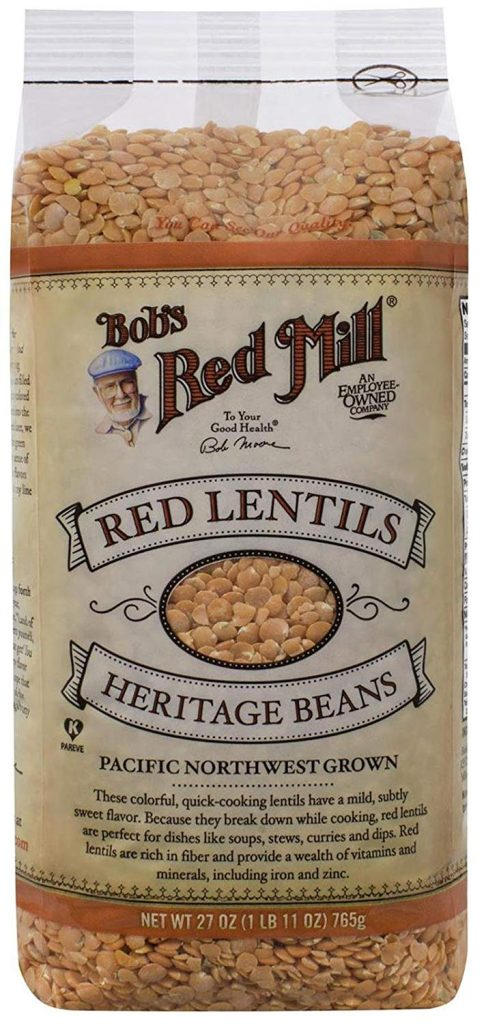 Buy Bob's Red Mill Red Lentils on amazon.com