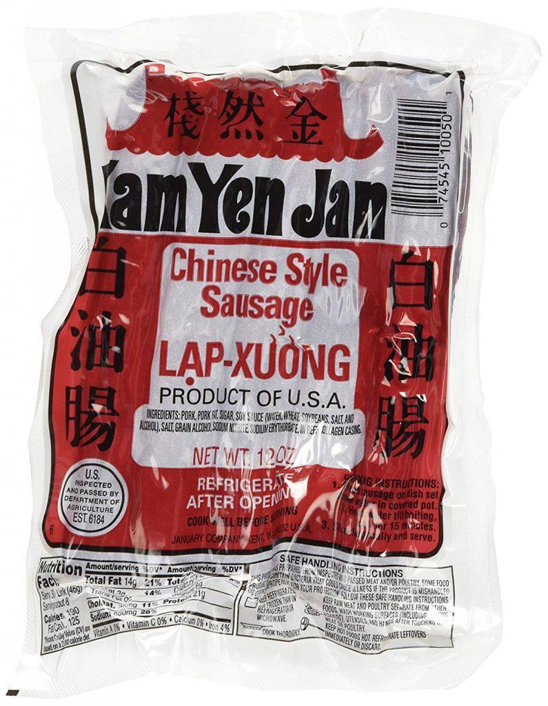 Chinese Sausage on amazon.com