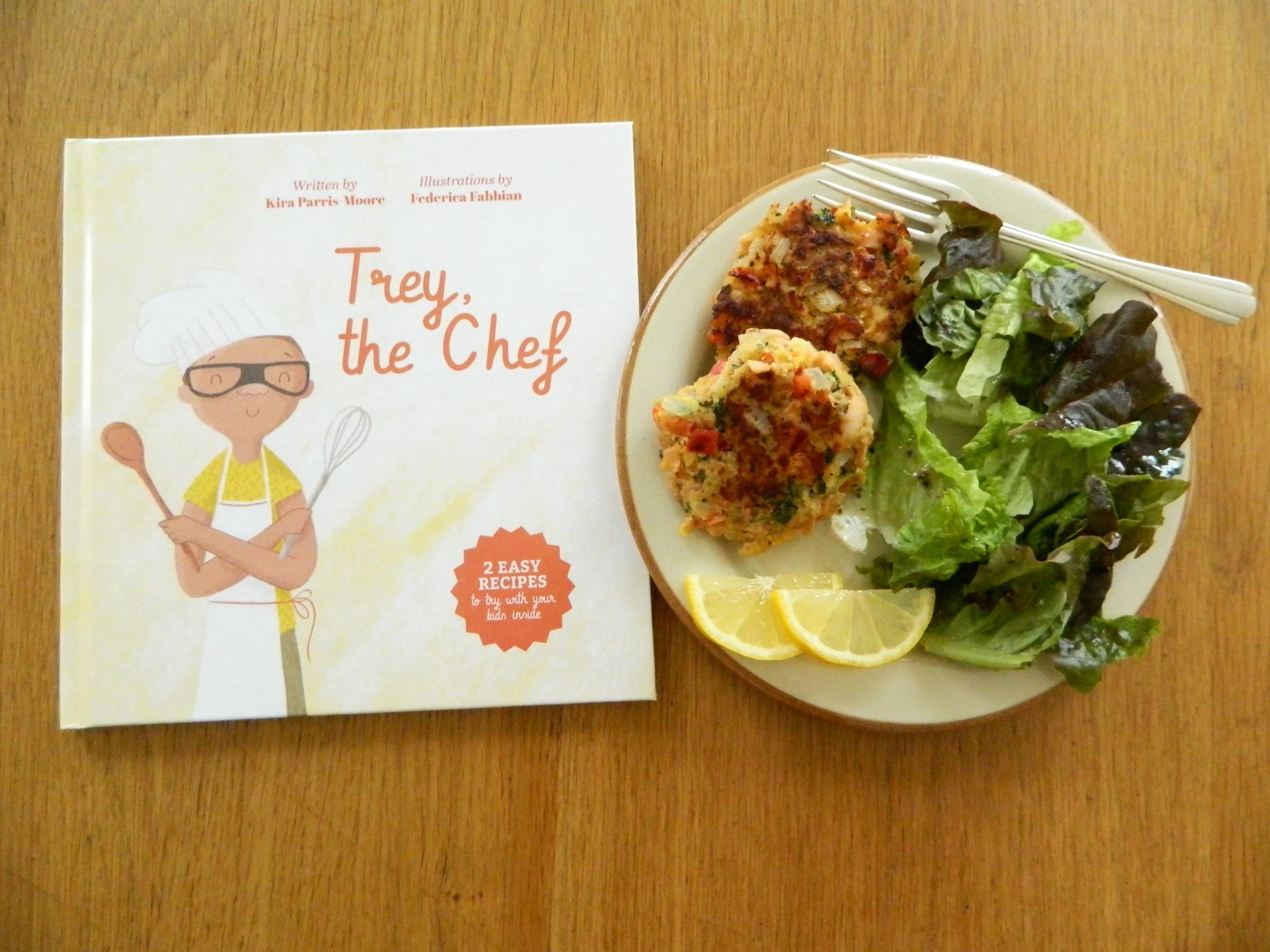 "Salmon croquettes and review of ""Trey, the Chef"" - finestofsuppers.com"