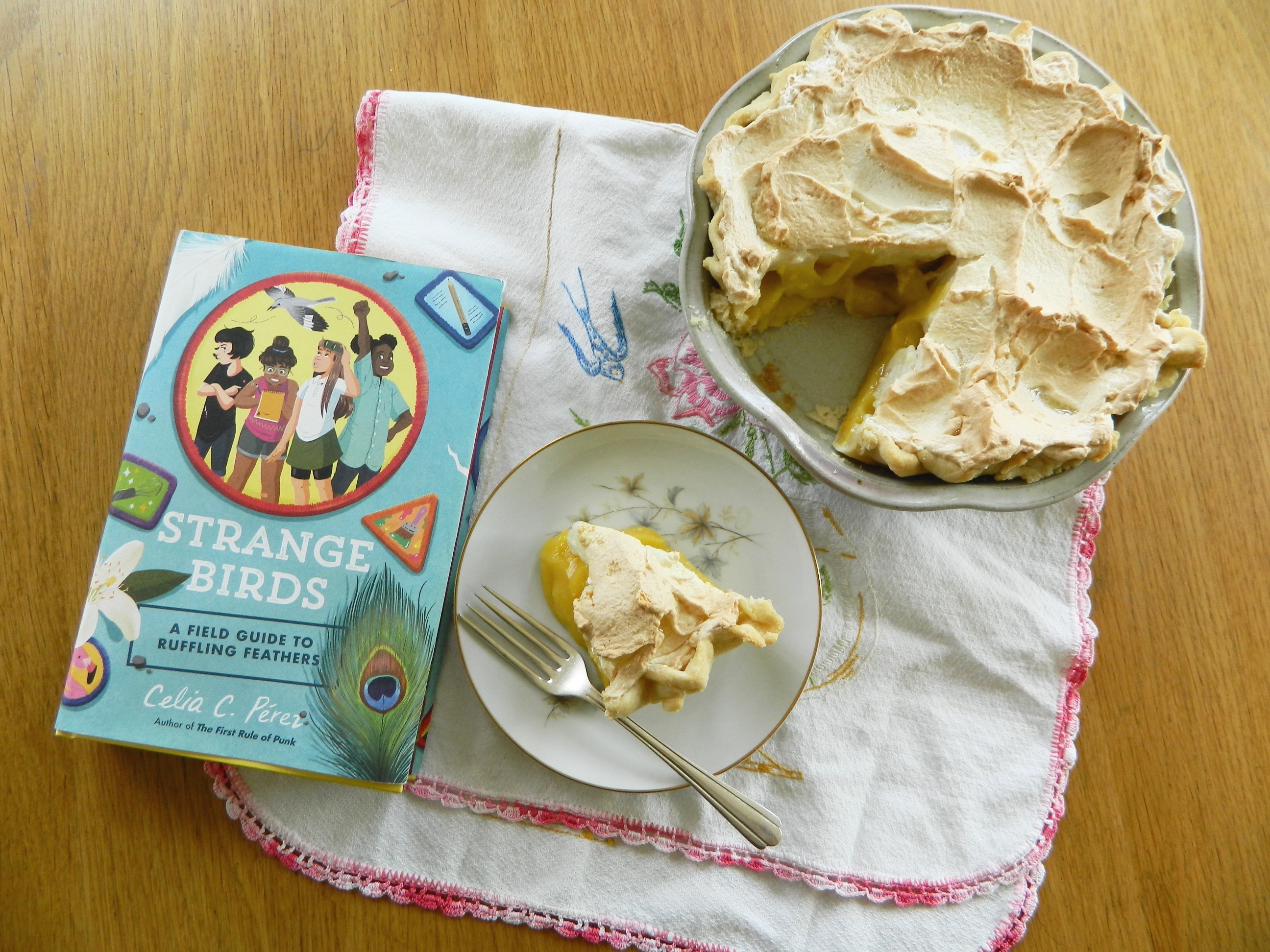 "Winter Sun Orange Pie and ""Strange Birds"" - finestofsuppers.com"