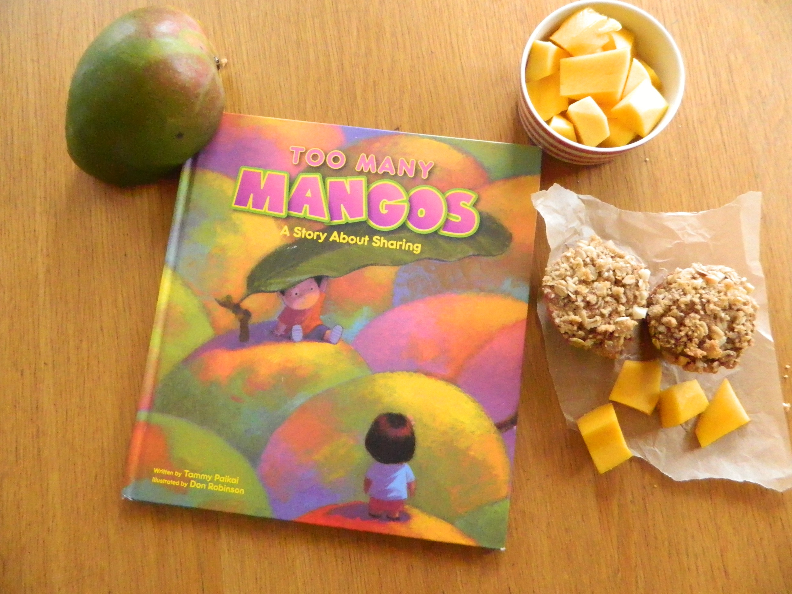 """Too Many Mangoes"" by Tammy Paikai - finestofsuppers.com"