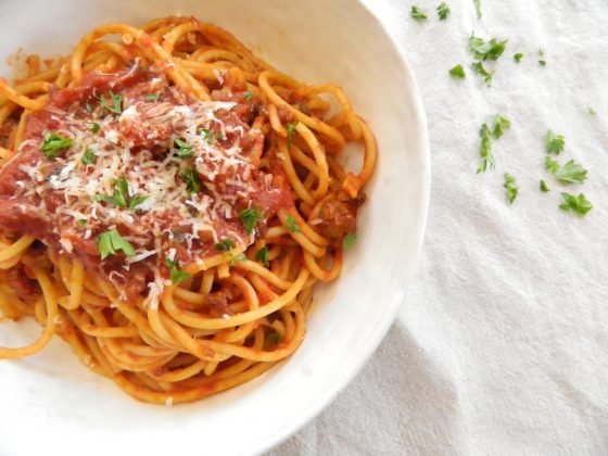 Best Spaghetti Sauce - finestofsuppers.com