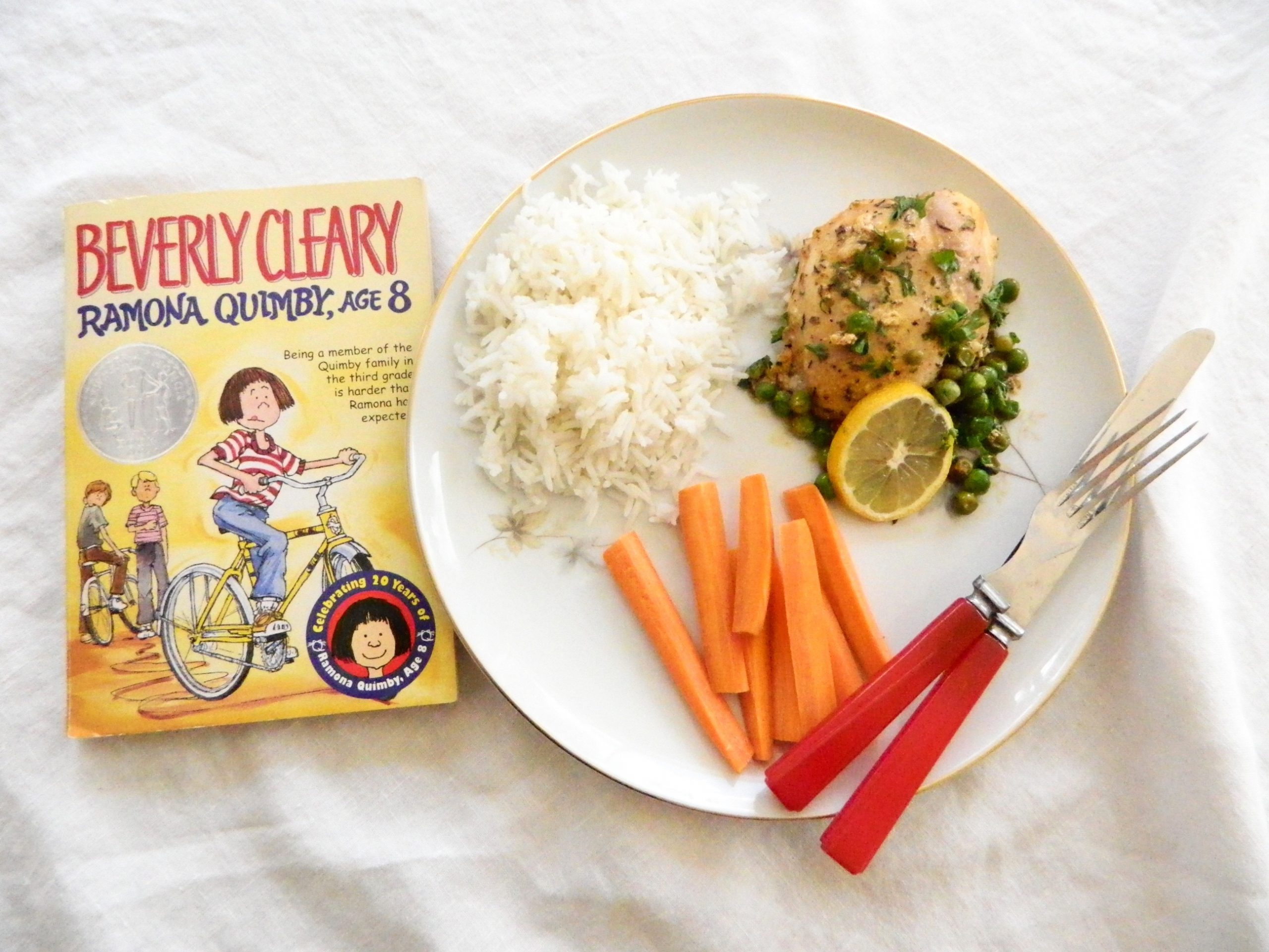 Book and Cook Club: Ramona Quimby, Age 8 - finestofsuppers.com
